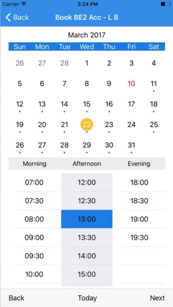 3imobile App corsi telefonici in inglese, booking