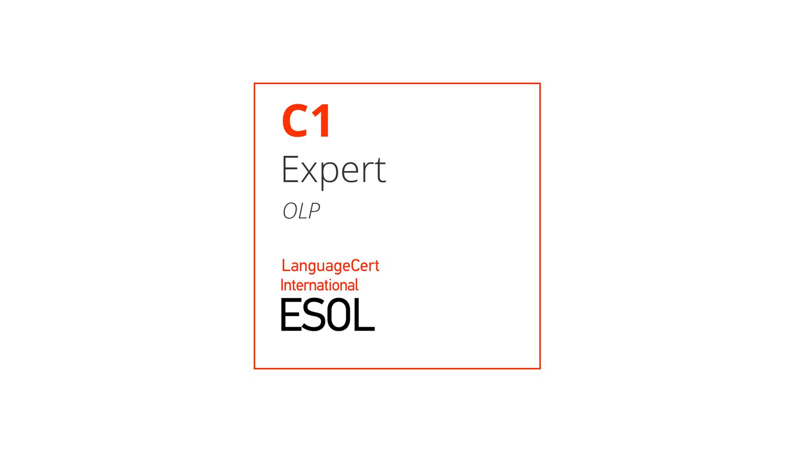 Esame di inglese online C1 LanguageCert International ESOL