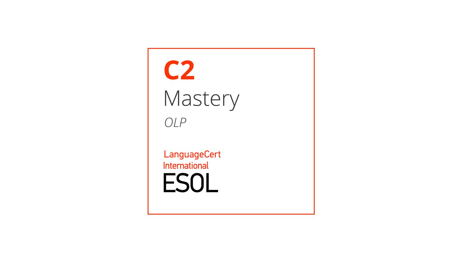 Esame di inglese online C2 LanguageCert International ESOL